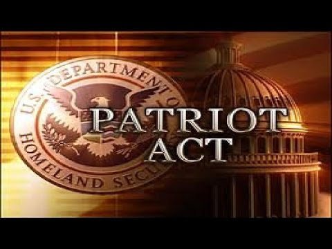 Repeal The Patriot Act!
