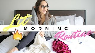 HOW TO CREATE A LIT MORNING ROUTINE FOR SCHOOL!