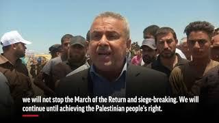 Dozens Killed in Palestinian Protests