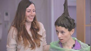 Как окрасить волосы в домашних условиях? ✓ Окрашивание волос Хной и Басмой ✓ e-Krasa, Video Channel(Подписывайтесь на наш канал, каждую неделю выходит в эфир интересное и полезное видео! https://youtube.com/c/e-Krasa?sub_conf..., 2016-04-08T13:34:34.000Z)
