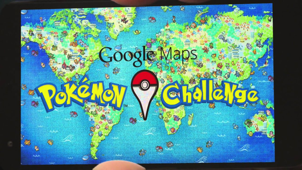 google maps: pokémon challenge - youtube