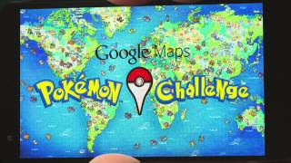 Google Maps: Pokémon Challenge Free HD Video