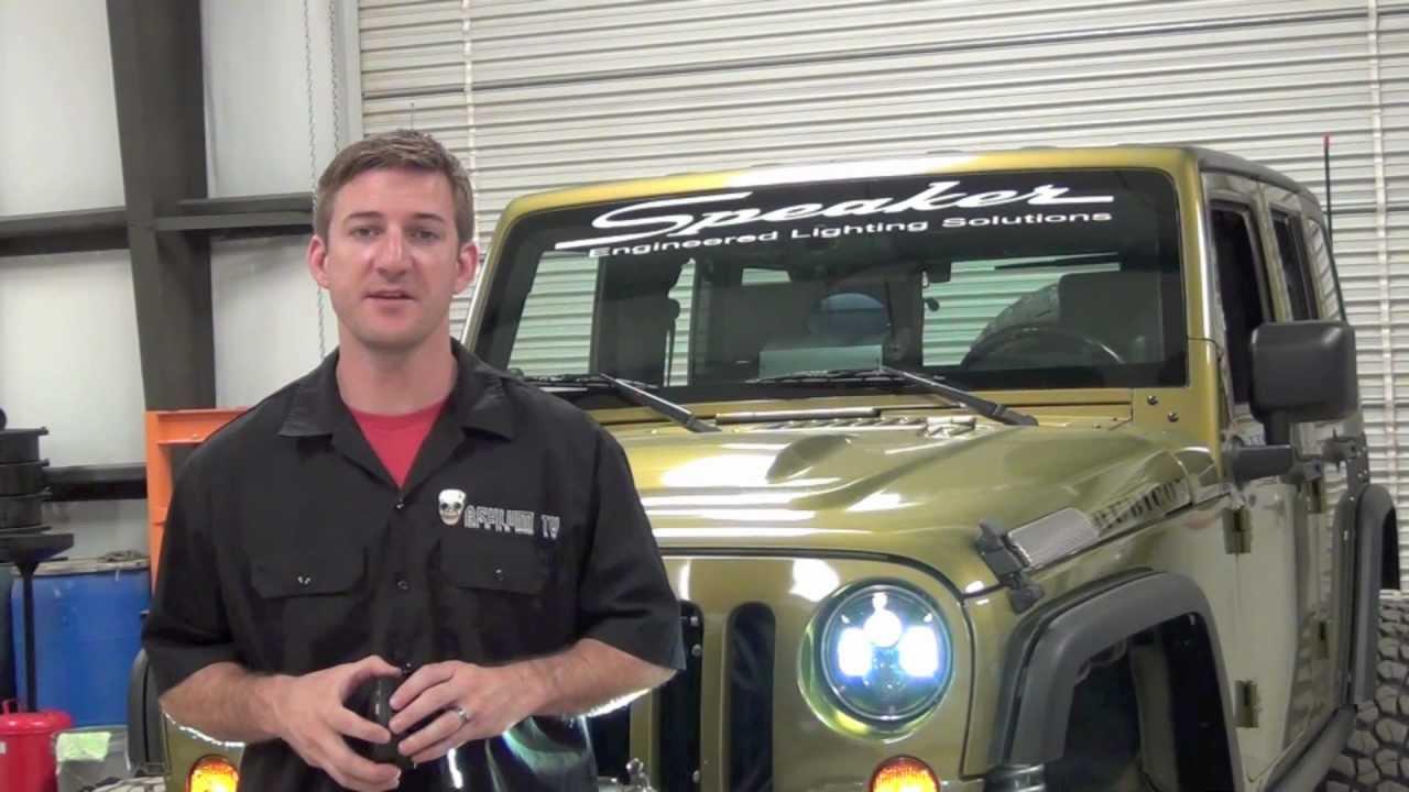 JW Speaker 8700 LED Headlights - YouTube