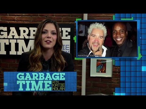 Katie on Guy Fieri, Barry Bonds, and Powdered Alcohol