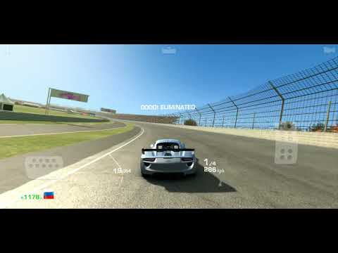 Real Racing 3 EAST/WEST Throwdown Race 2 Elimination In Porsche 918 RSR Concept