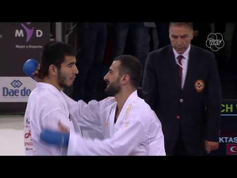 Daniyar Yuldashev (KAZ) Vs Ugur Aktas (TUR) -84kg. Madrid K1 Premier League 2019 Gold Medals