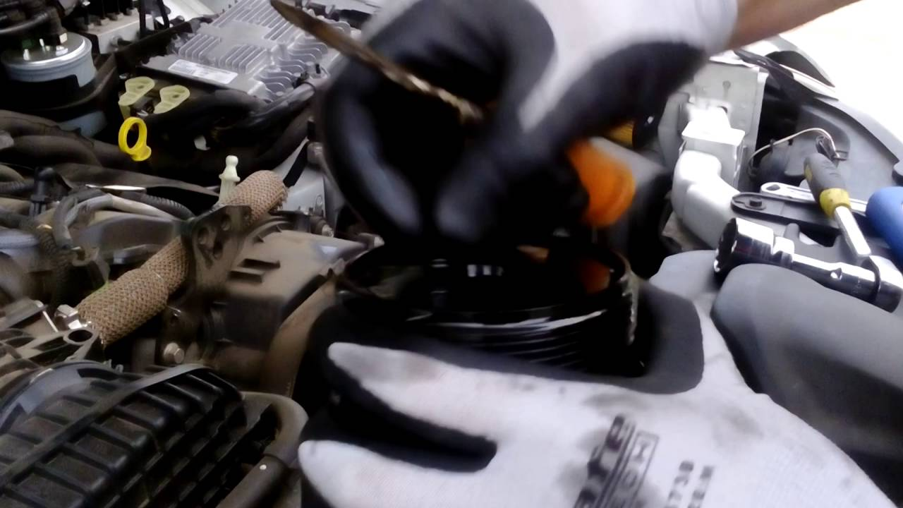 ford territory diesel oil filter removal