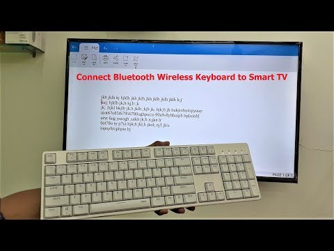 How To Connect & Use Bluetooth Keyboard To Smart TV