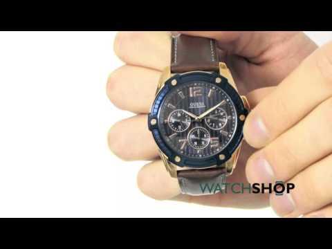 Guess Men's Flagship Watch (W0600G3)