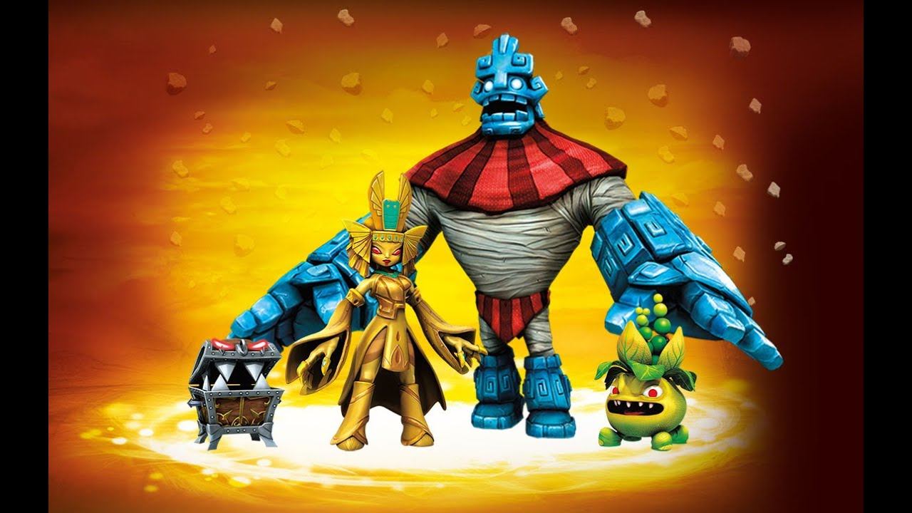 All Earth Villains Quests + Evolutions In Skylanders: Trap ...