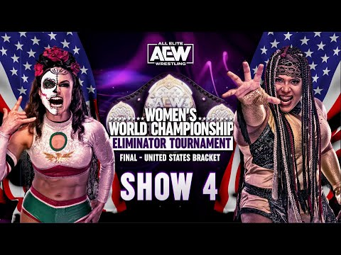 Thunder Rosa v Nyla Rose - Final United States Bracket | AEW Women's Eliminator Tournament