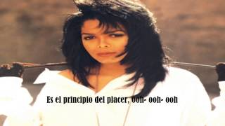 Janet Jackson- The Pleasure Principle |Subtitulado en español|