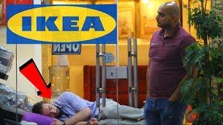 EJP !!!مقالب مجنونة في محلات المفروشات – Crazy IKEA furniture store prank!