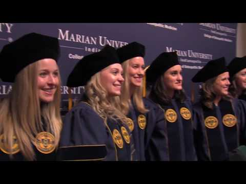 Marian University College of Osteopathic Medicine Commencement 2017