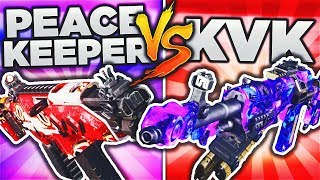 PEACEKEEPER vs KVK! (BO3 DLC WEAPON FACE OFF) BLACK OPS 3 DLC WEAPON SUPPLY DROP OPENING!