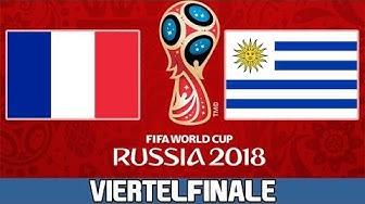 FRANKREICH : URUGUAY   Viertelfinale   FIFA WM 2018 Prognose