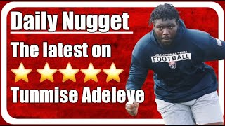 Tunmise Adeleye decommits from Ohio State, what does this mean for Nick Saban and Alabama football?