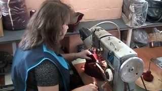 Производство войлочных тапочек. Швейный цех - пошив.(, 2013-04-25T21:00:27.000Z)