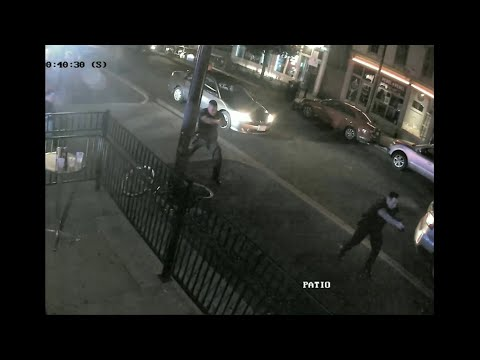 Dayton Police Department releases surveillance video of mass shooting