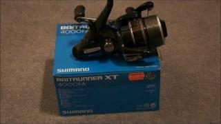 Shimano Baitrunner XT 4000FA