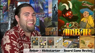 Ambar - Kickstarter - Board Game Review