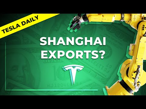Tesla to Export From Giga Shanghai? China Demand Issue or Not? + TSLA Updates, Elon Musk Tweets