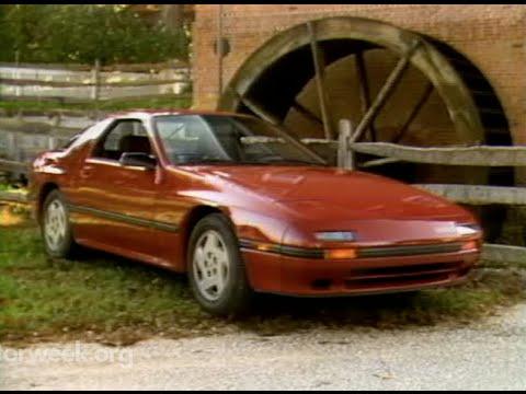 MotorWeek   Retro Review: '85 Mazda RX7 FC - YouTube