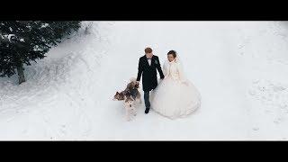 Красивая свадьба зимой - обязательно к просмотру