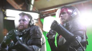 Pacific Rim Making Of with Jesse Cox, Dodger, HuskyStarcraft, TotalBiscuit, & the GameGrumps