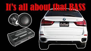 HOW TO INSTALL A SUB AND AMP IN A BMW X5