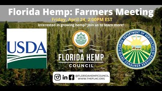 Virtual Florida Hemp Farmers Meeting