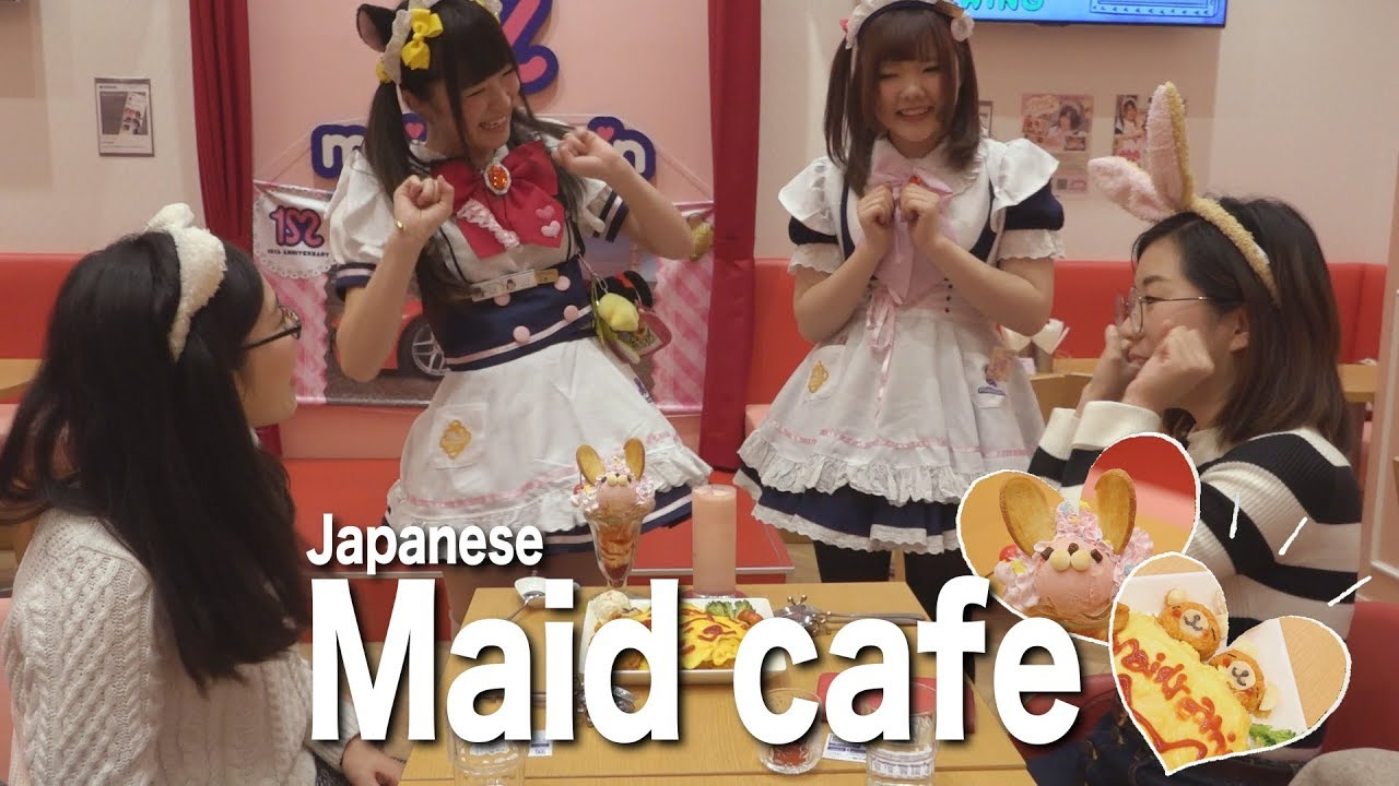 Maid Café In Tokyo – The Strangest Service On Earth? - QUESTION JAPAN