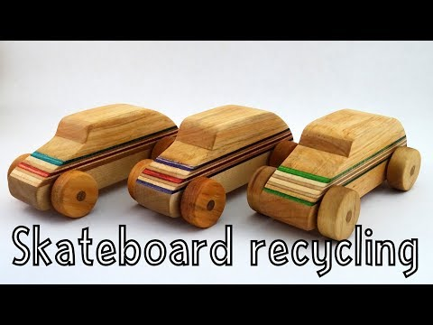 Wooden toys for charity - Skateboard Racecars | How To Woodworking