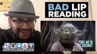 """SEAGULLS! (Stop It Now)"" -- A Bad Lip Reading of The Empire Strikes Back REACTION!"