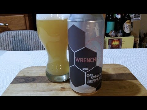 Industrial Arts Brewing Co. Wrench NEIPA (6.8% ABV) DJs BrewTube Beer Review #1130