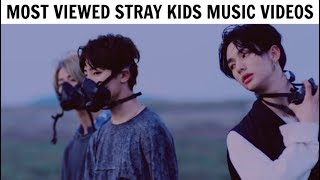 [TOP 10] Most Viewed STRAY KIDS Music Videos | January 2019