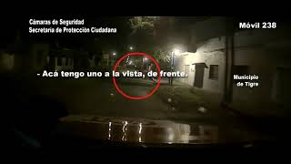 Ricardo Rojas: robó mercadería de un local de celulares y el COT lo detuvo a pocas cuadras