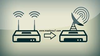 الشرح 962 : شاهد كيف يمكنك تسريع الانترنت لديك و لدى الجيران أيضا   تقوية اشارة ال wifi