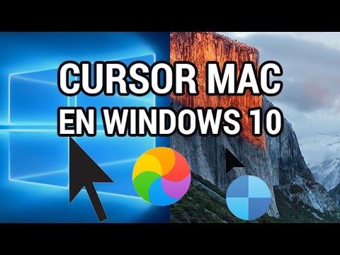El capitan cursors for mac shortcut