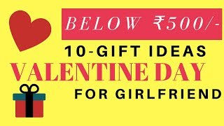 10 Valentine's Day Gifts For Her   Cheap Valentine Day Gift For Girlfriend   Surprise Valentine Gift