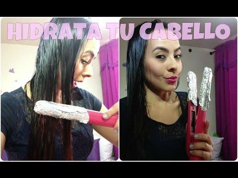 Repolarizacion capilar (hidratación y reparación del cabello) Tratamiento profesional en casa