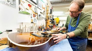 Guitar builder's rare talents attract famous artists and acts  | Made to Last