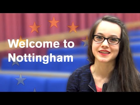 Welcome to Nottingham - European Day of Languages