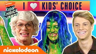I 💚 Kids' Choice - Stars Reacts to Liza Koshy, Nick Jonas, Katy Perry & More! | Nick