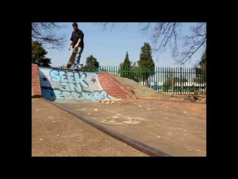 Skating the Germiston Bowl
