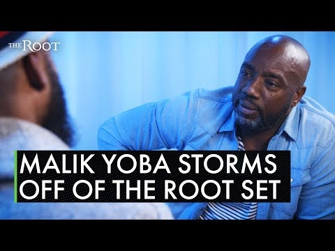 The Rise & Grind Morning Show - Malik Yoba Storms Out Of Interview