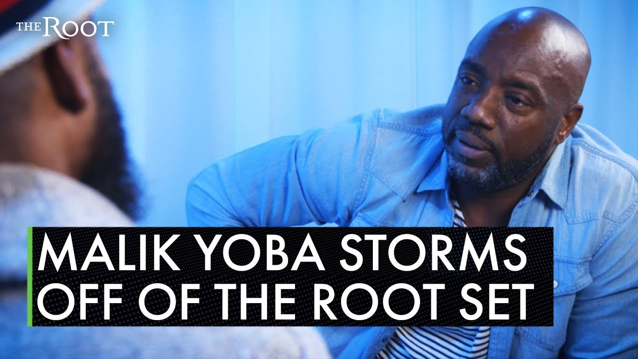 Malik Yoba stormed off interview set when asked about allegations made by trans woman
