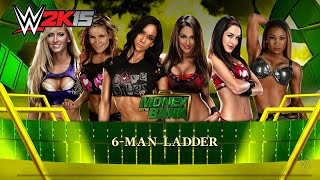 WWE 2K15 (PC) 6 Diva Money In The Bank Match