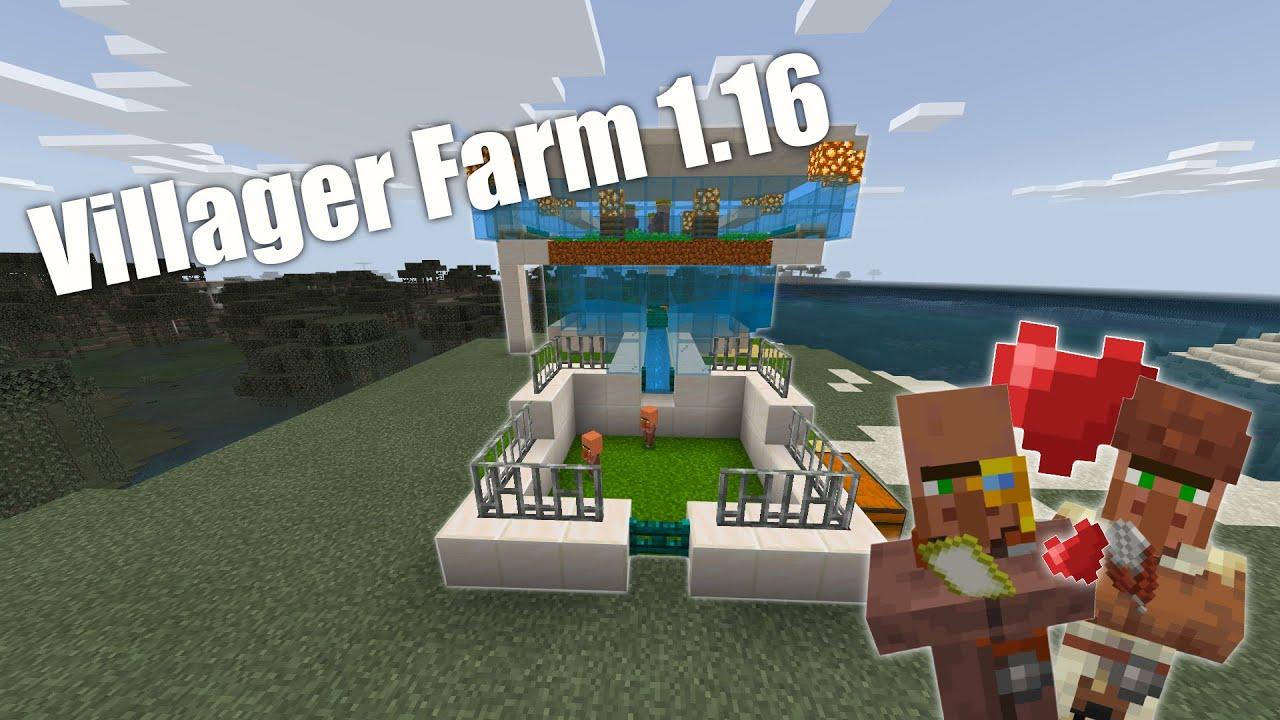 Minecraft Villager vermehren  Villager züchten  Bedrock Edition  [PS10,XBox,Switch,Win10,PE]