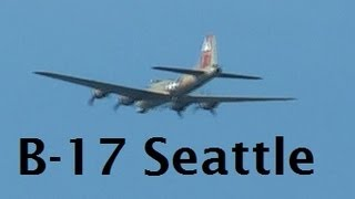 US Air Force B17 invades seattle!